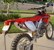 crf450 taillight